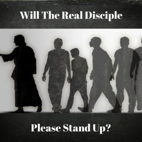 Will the Real Disciple Please Stand up?