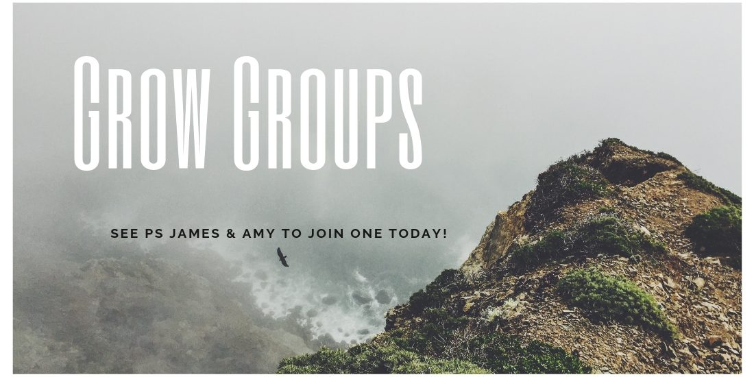 Grow Groups – Find one Today!