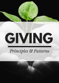 Giving – Principles and Patterns